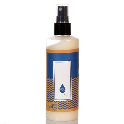 Gold tanning oil