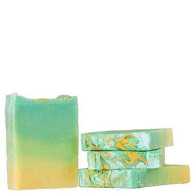 Artisan soap ombre