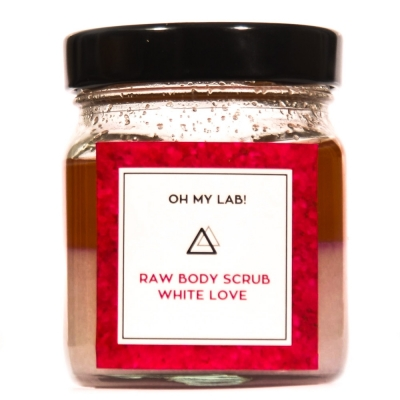 Body Scrub White Love