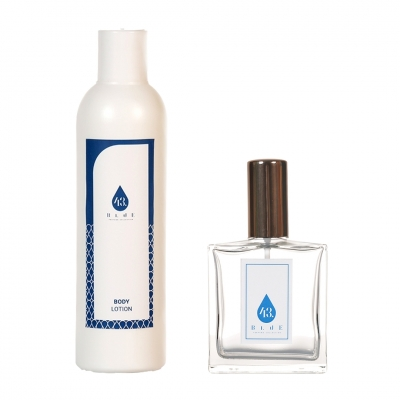 Perfume with body lotion