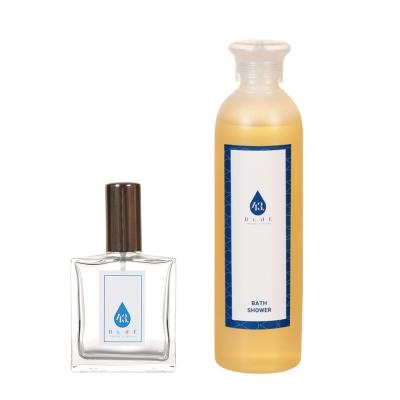 Perfume with bath shower